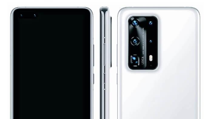 Configuratie camera Huawei P40 Pro specificații