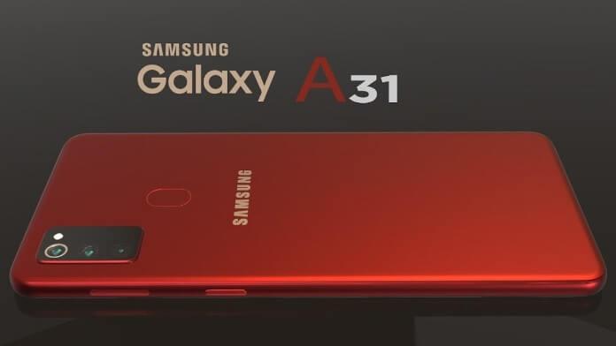 Samsung Galaxy A31 poze