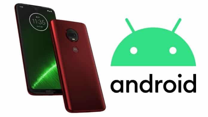 Moto G7 Plus actualizare Android 10