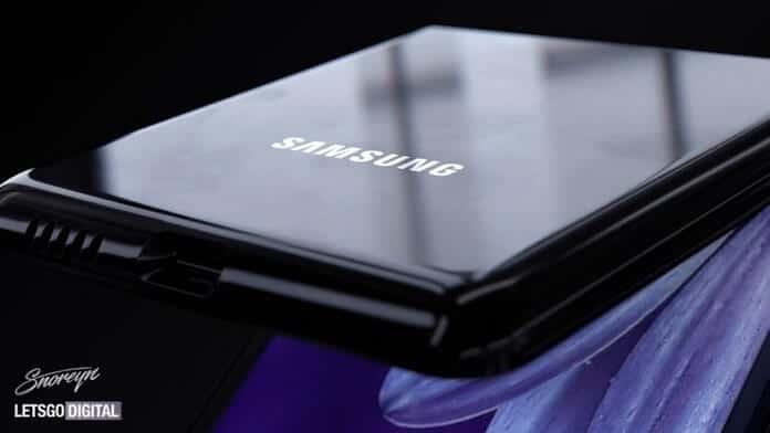 telefon pliabil Samsung Z Flip design