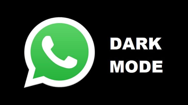 Whatsapp modul întunecat