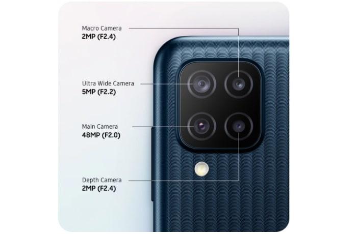 Samsung Galaxy M12 camera